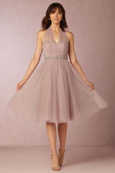 The New BHLDN Bridesmaid Collection Once you find the perfect color palette for your wedding day, one of the first things you'll want to do is to determine how you'l. Tea Length Bridesmaid Dresses, Vintage Bridesmaid Dresses, Blush Dresses, Wedding Dresses, Dresses Short, Formal Dresses, Maid Of Honour Dresses, Gowns Online, Dress Online