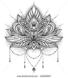 Bildergebnis für lotus mandala designs