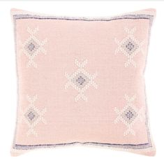 Roam Common Malia Pillow Cover Pillow Inspiration, Pastel Palette, Your Space, Pale Pink, Decorative Throw Pillows, Pillow Covers, Interior Design, Pattern, Color