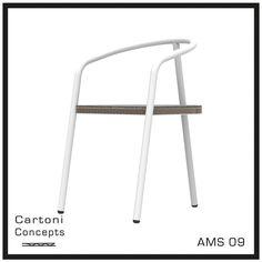 Wat: AMS 06 Dining Chair Ontwerper/fabrikant: Cartoni concepts Herkomst: Nederland  Materiaal: Honingraad karton, PET Vilt, eikenhout  Prijs: €656,30