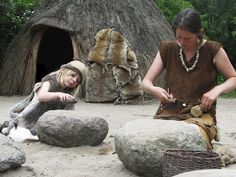 Picture Credit: Hunter gatherer mother and child. Taken by hans s and published on Flickr.