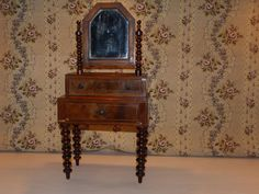 Antique doll dressing table