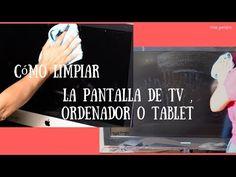 como limpiar pantalla de tv, ordenador o tablet - YouTube
