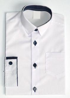 Koszula ze wstawką dł rękaw - POLSKA r 146