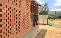 Gallery of Brick Award 20: A Tribute to High Quality Brick Architecture - 7 Brick Architecture, Architecture Images, Village Houses, Ceramic Materials, Media Images, Built Environment, Delft, Mexico City, Slovenia