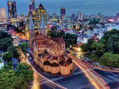 Vietnam. Centro económico de Ho Chi Min