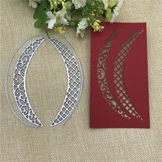 Oval Card Border Metal Cutting Dies for DIY ScrapbookingAlbum Embossing Craft LY