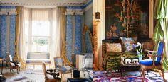 Pauline de Rothschild's Curtain Style
