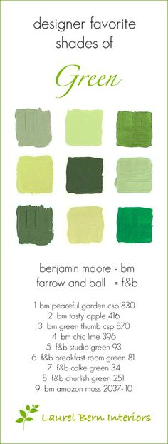 9 Fabulous Shades of Green Paint and One Common Mistake - laurel home - Fabulous green Benjamin Moore Paint colors Green Paint Colors, Best Paint Colors, Paint Colors For Home, House Colors, Jewel Colors, Green Front Doors, Painted Front Doors, Front Door Colors, House Paint Exterior