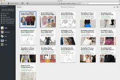 How I Organized My Growing Hoard of Sewing Patterns ; A Software Review