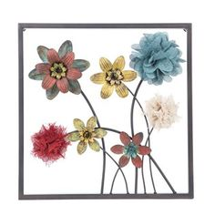 Framed Floral Metal Wall Decor Style 2 Hobby lobby  Kitchen/dining