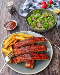 What Exactly Are The Key Benefits Of Having A Salad Everyday? Bbq Ribs, Shish Kabobs, Cabbage Casserole, Spare Ribs, Party Finger Foods, Grilled Pork, Proper Diet, Barbecue Recipes, Sauerkraut
