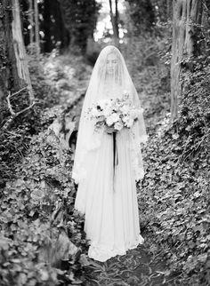 Moody Forest Wedding Inspiration - Photographer: Michael Radford