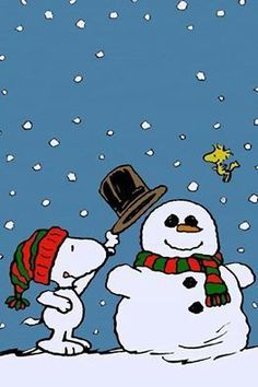 Trendy Christmas Wallpaper Cartoon Snoopy And Woodstock Ideas
