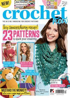 Crochet now issue 13 2017 Crochet Diagram, Freeform Crochet, Crochet Yarn, Blanket Crochet, Crochet Book Cover, Crochet Books, Knitting Magazine, Crochet Magazine, Simply Crochet