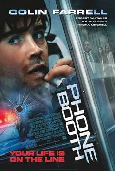 Stuart Shepard finds himself trapped in a phone booth, pinned down by an extortionist's sniper rifle.
