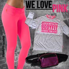 #NewSetBodyFit #WeLovePink #Fashion #ExerciseYourStyle