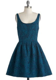 Blue dress from ModCloth