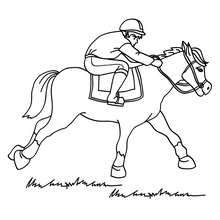 horse racing color pages these horse coloring pages are