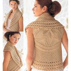 One day I'll learn how to do this -- knit and crochet pattern