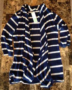 Stitch Fix #7 -41 Hawthorn Addison Striped Knit Cardigan