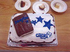 Gateau de la fëte de cloture / Cake at closing ceremonies - Bibliothèque de Chelsea