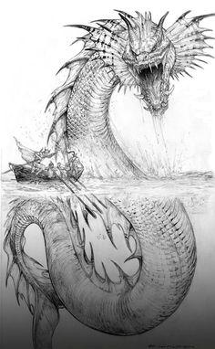 Палладий Фэнтези Jormund Змей ChuckWalton на deviantart