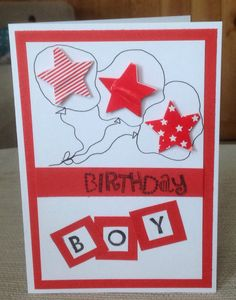 Boy card