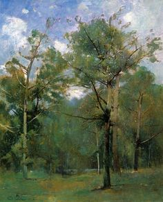 Woods - Emil Carlsen