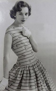 Horrockses Cotton Print 1950's