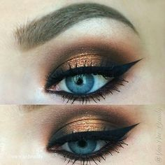 MBA Cosmetics Warm Bronze pigment on the lid