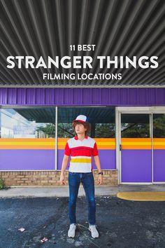 11 Best Stranger Things Filming Locations You Should Visit Now // Local Adventurer #atlanta #georgia #usa #travel #tvshows #filmlocation #strangerthings