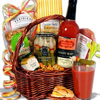 Bloody Mary Breakfast Gift Basket- Good idea for my Uncle!