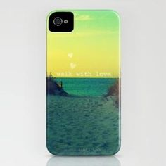 Walk In Love iPhone Case by RDelean | Society6    - now if only I had an iphone