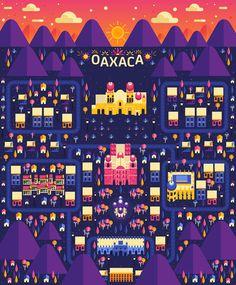 Aldo Crusher - Cosmópolis Pt. 3 - Oaxaca Map