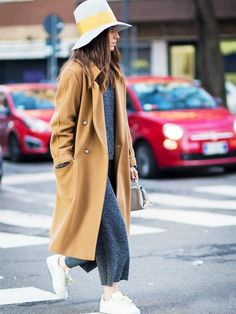 50 Outfits From Cool Girls Who Ace It in Cold Weather via @WhoWhatWearUK