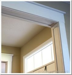 DIY door casings - the easy way!