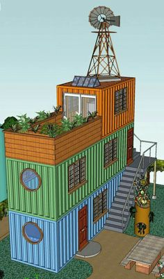 Container house price shipping container home bedroom shipping container house plans cargo container home designs,houses built out of storage containers metal shipping containers for sale. Building A Container Home, Container Buildings, Container Architecture, Architecture Design, Sustainable Architecture, Container Home Designs, Storage Container Homes, Container Store, Shipping Container House Plans