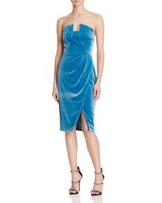 Black Halo Jolie Velvet Dress - 100% Bloomingdale's Exclusive | Bloomingdale's