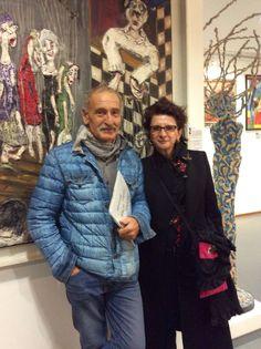 Philippe Aini et rebecca Campeau au Musee d art BRUT ET SINGULIER a Montpellier / L ATELIER MUSEE T: 04 67 79 62 22 /musee prés de la gare à pied /