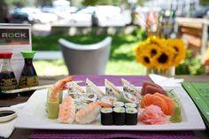 Rock Sushi Thai Sushi, Table Decorations, Rock, Home Decor, Stone, Decoration Home, Locks, Rock Music, The Rock