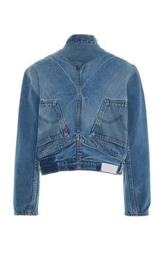 Re/done Upside Down Denim Jacket A clever edit of stylish and street smart denim jeans. Recycled Fashion, Recycled Denim, Amo Jeans, Women's Jeans, Denim Ideas, Denim Fashion, Diy Clothes, Dame, Refashioning