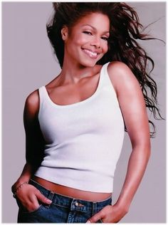 Janet Jackson is a singer and actress. Janet has always had fun with her hair whether it has a weave in or not. This gallery features her long weave hair styl Michael Jackson, Jo Jackson, Jackson Family, Jermaine Jackson, Divas, Janet Jackson Together Again, Beautiful Black Women, Beautiful People, Simply Beautiful