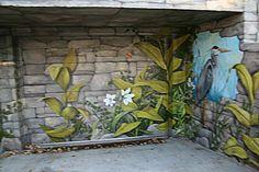 Sophie W i l k i n s - Fresque du 175 ième anniversaire de la ville de Coteau-Du-Lac   2007  Fresque pour la ville de Salaberry -de -Valleyfield '' Montreal Cotton''  2006  Murale extérieure pour  particulier à  Coteau-Du-Lac  2008-2012