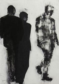 """Pawel Kwiatkowski, Monotype, Printmaking """"Martin Eden"""""""