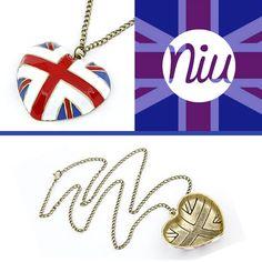 british style en un lindo collar :), encuentra esto y mucho más en: www.niuenlinea.co Washer Necklace, Pendant Necklace, Collar, Jewelry, I Found You, Cute, Accessories, Jewlery, Jewerly