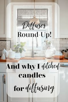 Diffuser Round-Up and Why I ditched Candles - Nesting With Grace Trendy Home Decor, Fall Home Decor, Best Diffuser, Diffuser Blends, Small Office Desk, Metal Pumpkins, Romantic Candles, House Smells, House Cleaning Tips