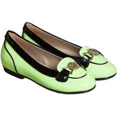 321b76e4b214 Girls Yellow Patent Leather Shoes