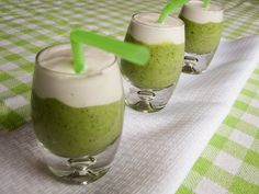 Here's a fun and healthy green drink for St. Patrick's Day made with fresh kiwis and whipped coconut cream. Whipped Coconut Cream Topping 1 can coconut milk (full-fat) 1 tbsp honey 1/2 tsp vanilla extract Skim the cream off the top of the can of coconut milk. Set aside the liquid coconut milk to put in …