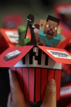 Minecraft-synttärit: kutsujen värkkäilyä